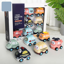 (7 PCS) baby toy car model child inertia car engineering car baby toy boy 1-3 years old