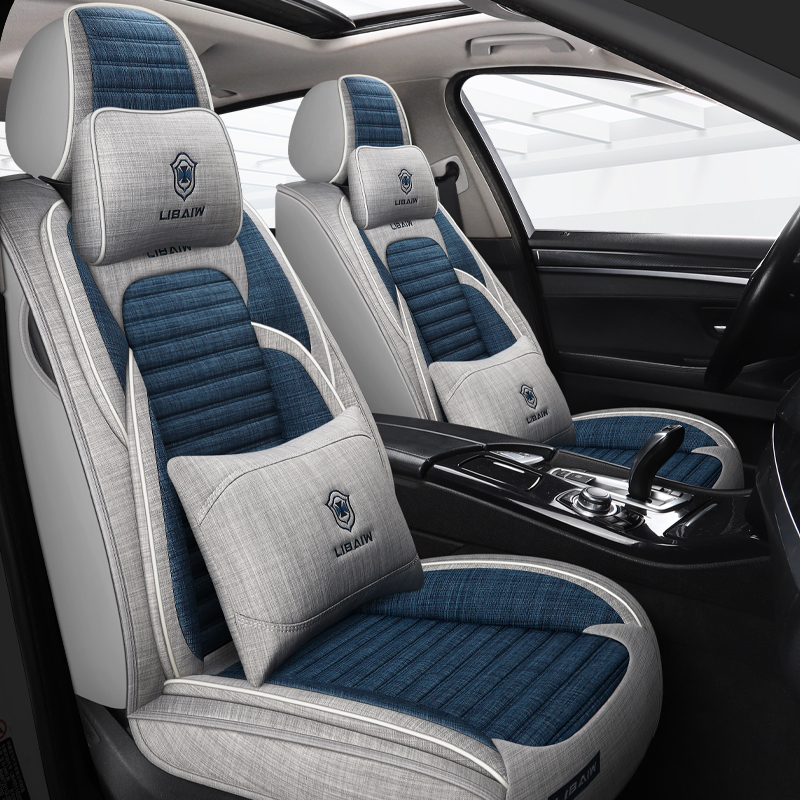 The car cushions are suitable for the Ronway 350 360 550 RX5 RX3 i5 ei6 all-inclusive four-season universal seat case