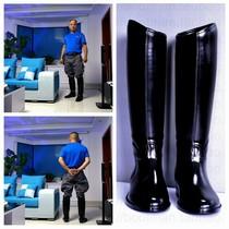 2020新款PVC英式哈利马靴