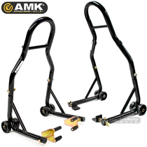 Repair frame from stop frame motorcycle front and rear wheels from the frame in the frame maintenance frame parking rack universal maintenance tools