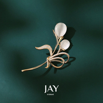 JAY ladies brooch 2021 new item fashion high-end female luxury corsage coat pin 2020 suit accessories