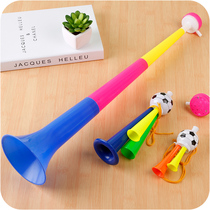 Three large telescopic horn shake sound of the same toy drip drip blowing car ke friends childrens toys
