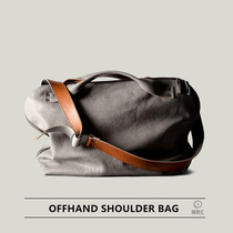 British Tide brand Hardgraft OFFHAND SHOULDER BAG genuine leather messenger shoulder tote bag