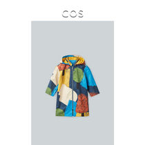 COS kids detachable hooded jacket mixed color 2020 spring new 08222497001