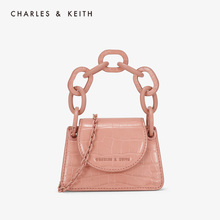 CHARLES & KEITH2019 Autumn New CK6-30780914 Lipstick Chain Mini-change Wallet