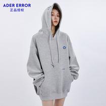ADER ERROR sweatshirt hooded men and women loose plus velvet 2021 New Autumn Tide brand Yi Qianxi coat