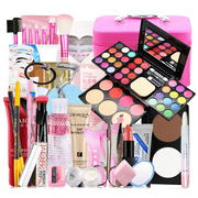 Cosmetics package complete beginners novice students light stage makeup nude make-up make-up box tool disk