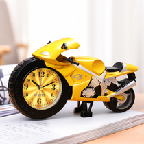 Locomotive alarm students use boy-only childrens clock cartoon creative cute mini alarm 牀 the first hour
