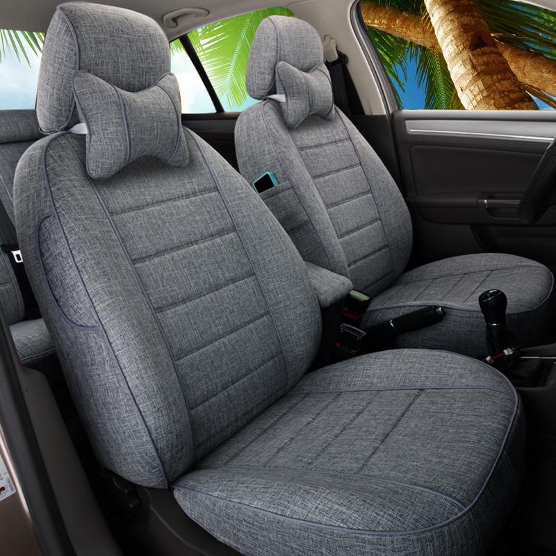Linge de siège d'auto complètement entouré par Corolla Ray Ling Yinglan Kai Yue K3 quatre saisons coussins de siège d'auto ensemble universel
