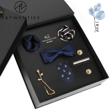 T&Twenties seven sets of gift boxes, men's ties, business gifts, gifts for boyfriend's birthday