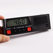 (Electronic digital inclination meter) horizontal meter angle meter horizontal ruler with magnetic engineering installation commissioning and decoration