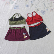 Special clearance summer children's children's swimwear suit girl split skirt skirt