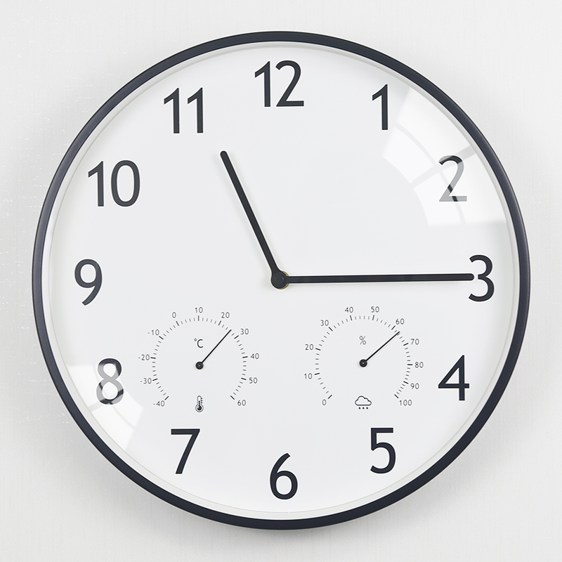 Super silent clock Nordic clock IKEA living room household personality creative fashion air wall bedroom quartz clock