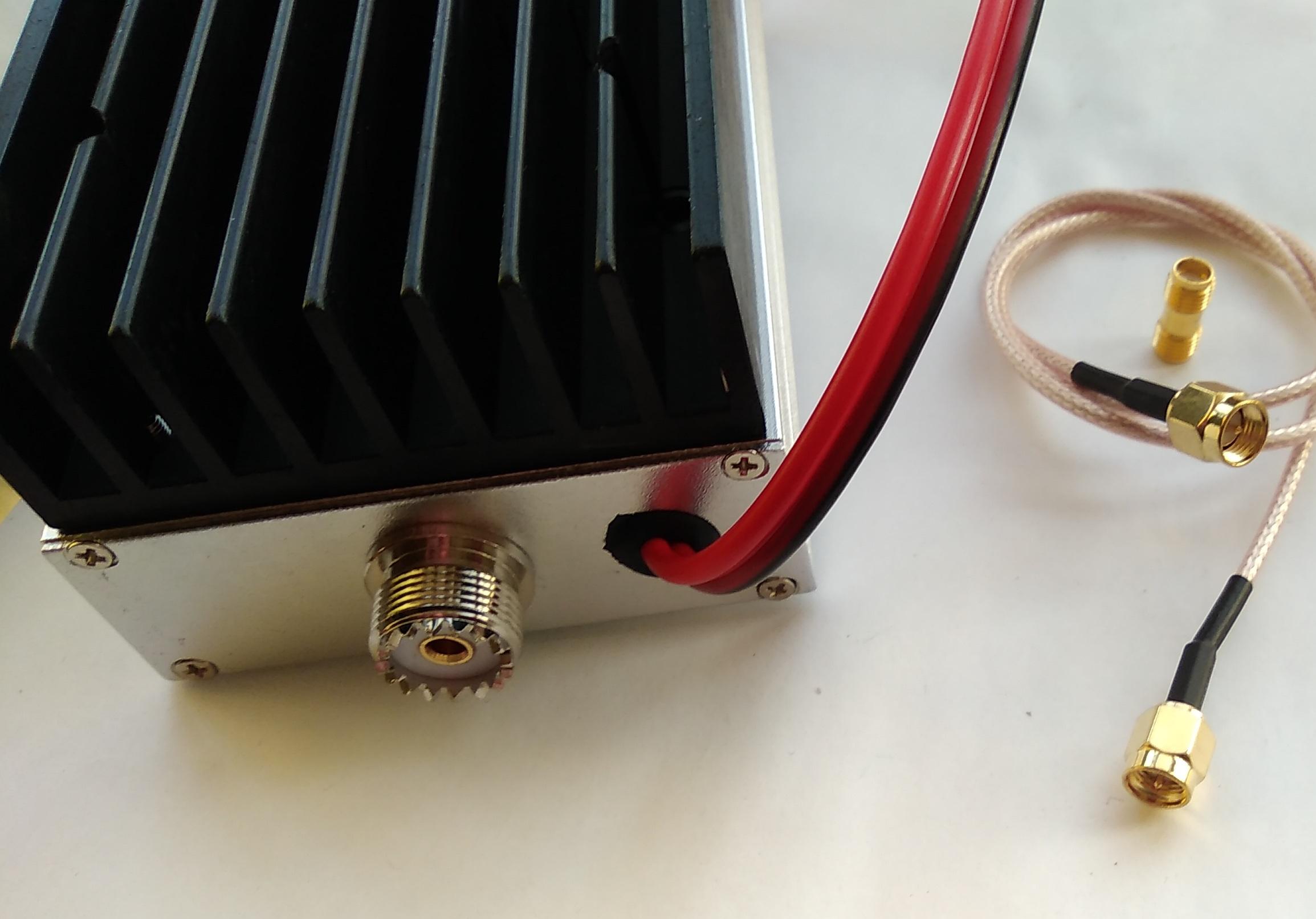 Hand console amplifier U-segment talkies amplifier 40W RF power amplifier 433 amplifier number transmission amplifier