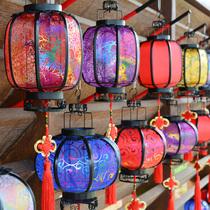 Середины осени фестиваль фонаря китайский стиль фонари имитация классического фильма реквизит COS Hanfu ручные фонари детей фонаря