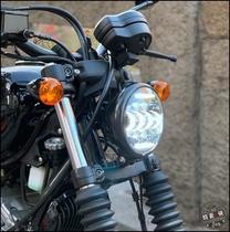 Qingqi Korea GV300s straight in-line motorcycle modification LED high-brightness headlights day line lens far and near light