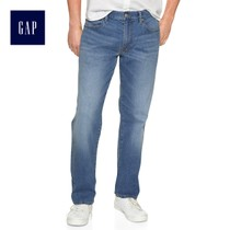 Gap men's fashion comfort in waist straight jeans 225850 E 2018 Summer New