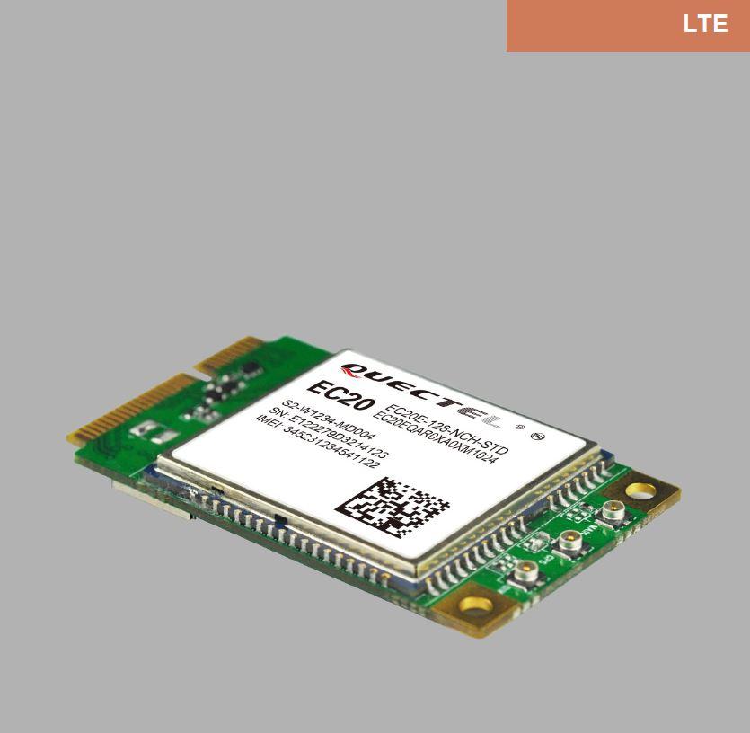 Move away QUECTEL EC20 4G full Netcom module MINI-PCIE version 5/7 mode  version with GPS