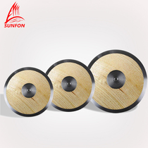 Volcker Athletics solid wood iron cake competition training with 1kg1.5kg 2kg throwing race iron cake