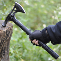 Outdoor camping multi-purpose axe Sapper axe special devil axe self-defense portable rescue workers fire axe