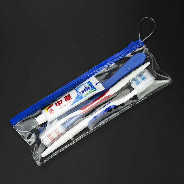 Toothware China toothpaste travel chain hotel hotel wash bag travel toothbrush suit wash articles factory price