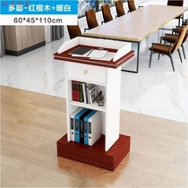 Podium table Podium Restaurant Welcome table Hotel Simple and modern EMCEE reception podium Host table