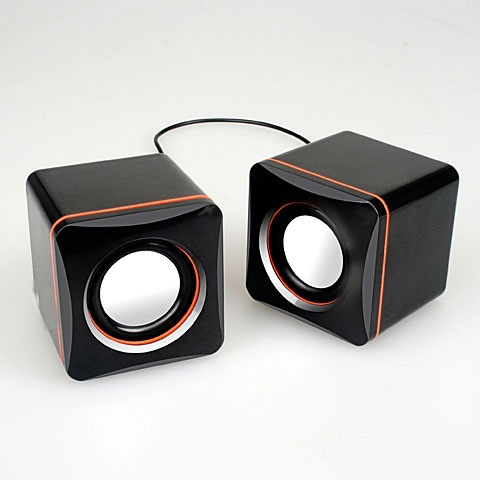 USB box small sound notebook computer small speaker portable mini subwoofer mobile phone sound