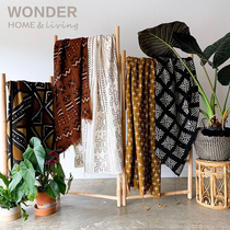 Mudcloth-Local handmade mud-dyed homespun tapestry Home art Decorative canvas in Mali Africa