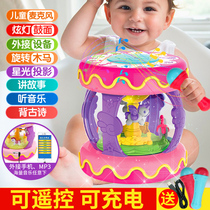 Child Electric Baby 1 years old 0-12 months hand clap drum