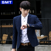 In the autumn of 2017 leisure suit male Korean youth Slim small suit jacket thin handsome men's coat
