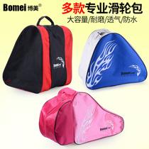 Boomerang Roller Skating skating roller bag children adult roller skates thickened single shoulder storage backpack