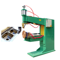 Factory direct pneumatic automatic seam welding machine automatic countertop Special equipment vegetable basin seam welding machine non-standard customizable