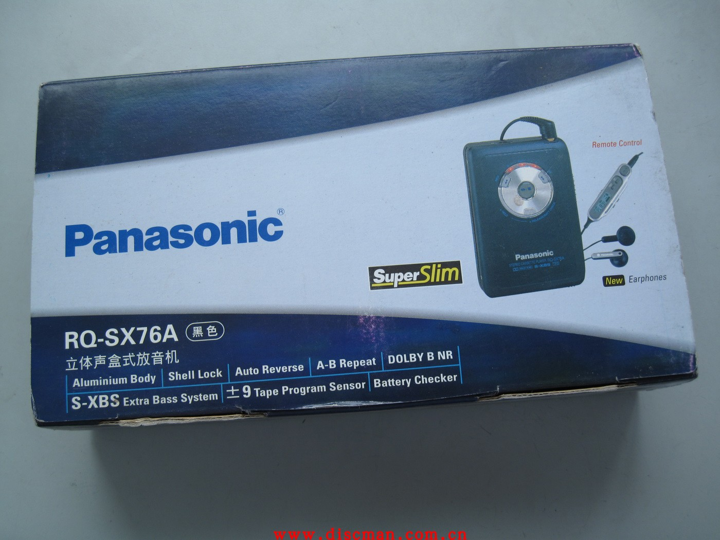 [The goods stop production and no stock]Panasonic Panasonic rq-sx76a tape player, brand new unused machine