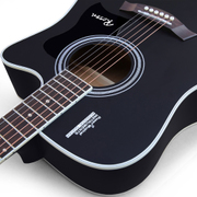 Roozen genuine guitar guitar 40 inch 41 inch wooden guitar beginner guitar students musical instruments