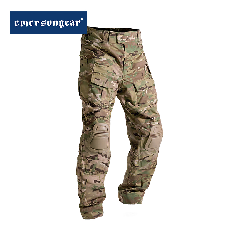 Emerson Blue Standard G3 Tactical Trousers MC Camouflage Trousers for Men