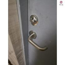 。不锈钢防火门锁消防安全通道门锁逃生门把手锁过道门执手防火锁