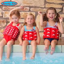 German childrens buoyancy swimsuits girls swimwear infants conjoined baby girls swimsuits swimwear boys swimwear
