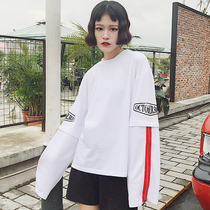 Korean students loose fringes spring and Autumn Sweater