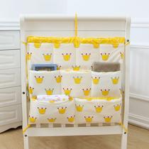 婴儿床上用品之床头挂袋 收纳袋 尿布袋 储物袋大规格 床边挂袋