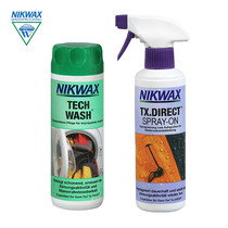 British native nikwax charge clothes cleaning agent Outdoor clothing Spray maintenance Set 300ML*2 115