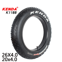 Kenda built 26 inch 20x4.0 Snowmobile Beach Ultra wide tire bicycle inside and outside tire k1151k1188