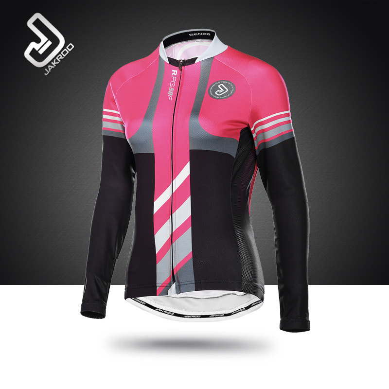 Jeku RR Second Season Women's Long Sleeve Cycling Suit Spring and Autumn Suit Women's Long Sleeve Summer Mountain Bike Cycling Suit