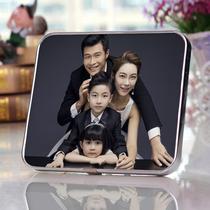 沖 wash 7-12 inch pose photo custom crystal wood print photo沖 wash enlarged wall frame
