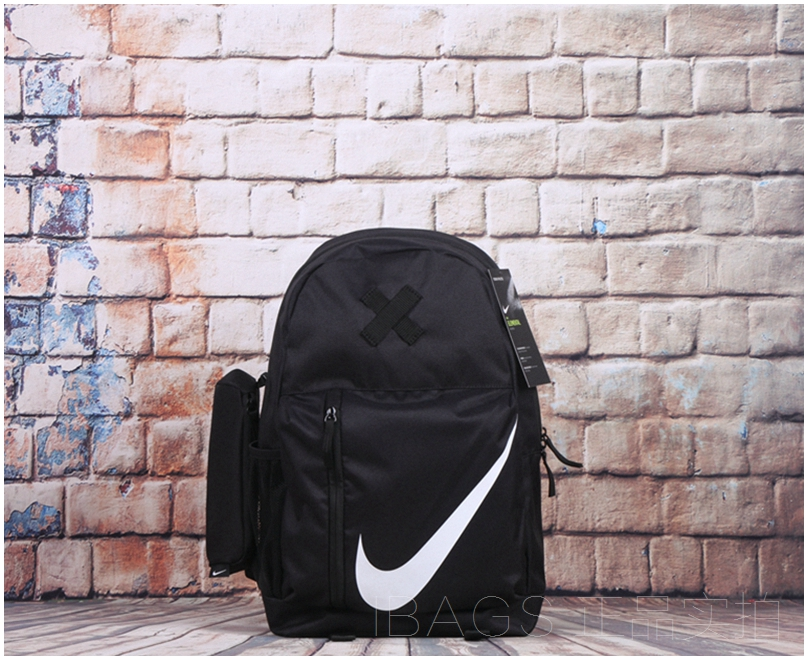 NIKE/Nike New Sports and Leisure Shoulder Backpack for Male and Female Students BA5405-010