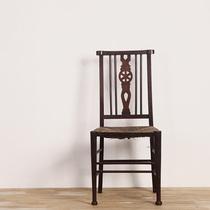 Royaume-Uni 1859 FW antique chaise teck herbe siège