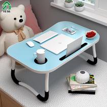 Кровать компьютерный стол для студентов общежития ленивый складной столик главная спальня минималистский учебный стол