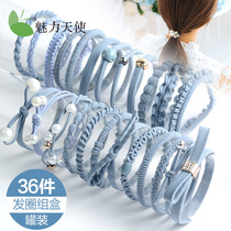 Head rope Korea small fresh and simple personality tie hair rubber band hair rope adult horsetail ball hair circle headdress