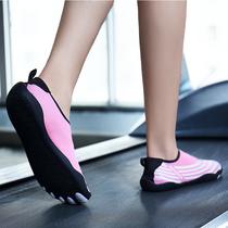 Болотные носки с пятью пальцами обувь для йоги женская мягкая подошва нескользящая крытая фитнес-беговая дорожка Обувь женская специальная обувь для плавания