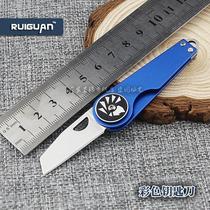 Mini Folding knife outdoor knife creative key knife with pocket folding tool camping equipment bird knife