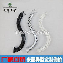 Wrapping pipe serpentine pipe office threading pipe serpentine routing pipe office desk hidden line pipe round 76cm